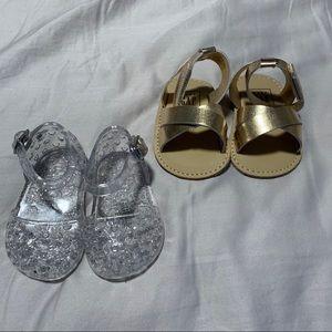 NWOT Set of 2 Gap Sandals 0-3M